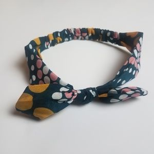 Headband - Polka Dot Bunny-Ear